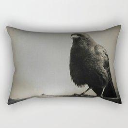 RAVEN PORTRAIT Rectangular Pillow