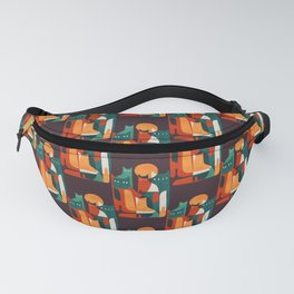 Cat Family Fanny Pack