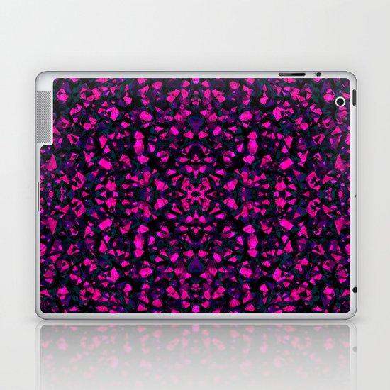 Pink crystals Laptop & iPad Skin