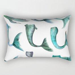 Mermaid Tails Rectangular Pillow