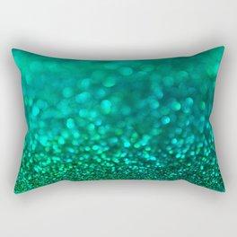 Un Teal We Meet Again Mr Glitter Rectangular Pillow