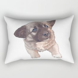 Little Puppy Rectangular Pillow