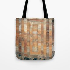 Cave abstraction Tote Bag