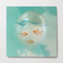 balloon fish 03 Metal Print