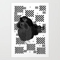 Birds Win. Art Print