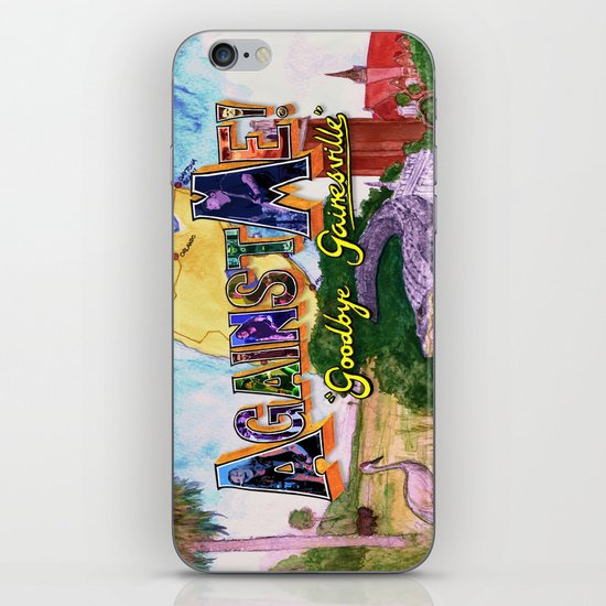 """Goodbye Gainesville"" by Cap Blackard iPhone & iPod Skin"