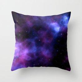 SELENE NEBULA Throw Pillow