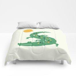 Sunbathing Comforters