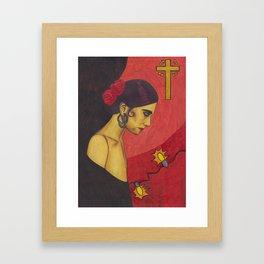 Surfer Rosa (Luxemburg) Framed Art Print
