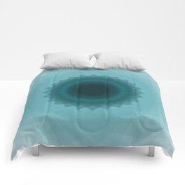 The eye of flower Comforters