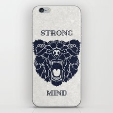Strong Mind iPhone & iPod Skin