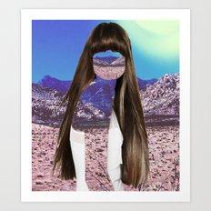 Haircut 6 Art Print