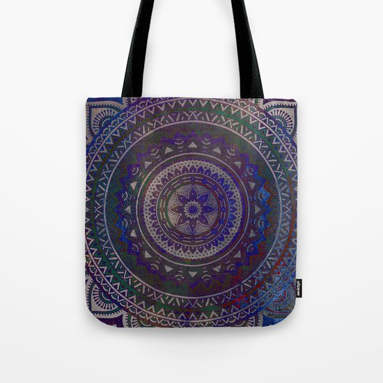 Spiritual Mandala Tote Bag