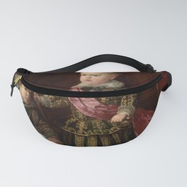 """Diego Velázquez """"Don Baltasar Carlos with a Dwarf"""" Fanny Pack"""