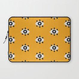 Evil Eye Dots – Marigold Palette Laptop Sleeve