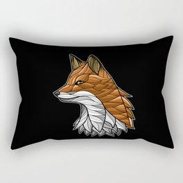 Tribal fox colors Rectangular Pillow