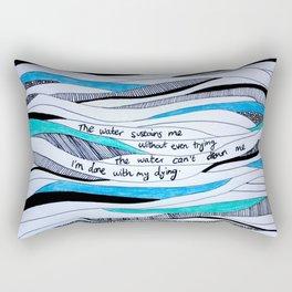 Sustain Me Rectangular Pillow