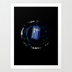 Space and Time and the Universe Art Print
