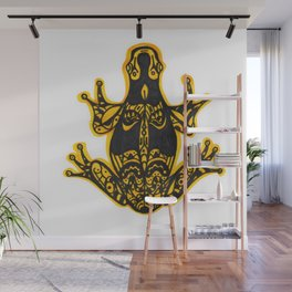 Poisonous frog Wall Mural