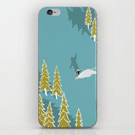 Girls snowboarding iPhone Skin