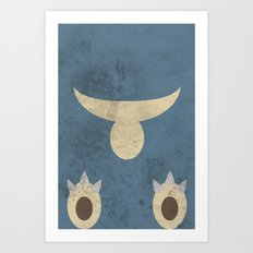 Munchlax Art Print