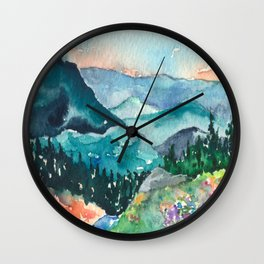 Valley of Dreams Wall Clock
