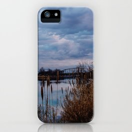 Cloudy Skies iPhone Case