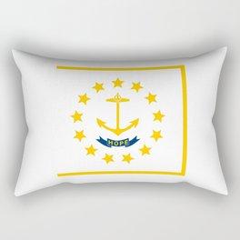 flag,rhode island,america,usa,Ocean State,Little Rhody,Rhode Islander,Providence,Warwick,Cranston Rectangular Pillow