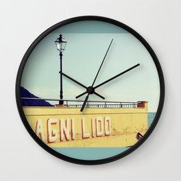 Bagni Lido Wall Clock