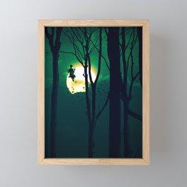 A Girls Dream (portrait version) Framed Mini Art Print