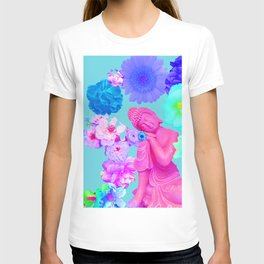 Pink Buddha T-shirt