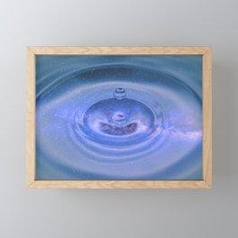 Ripples in spacetime Framed Mini Art Print