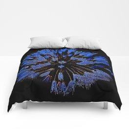 Dew On Dandelion, Wild Mandala Comforters