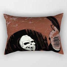 Monkey Skull Suit Rectangular Pillow