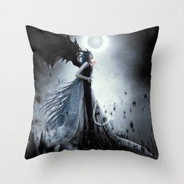 Tonight we rise Throw Pillow
