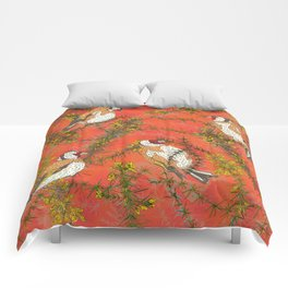Goldfinches in Gorse Comforters