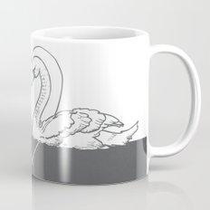 BE MY SWAN grey Mug