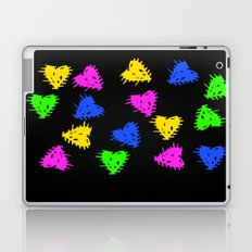 Scribbled Hearts Laptop & iPad Skin