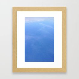 My Blue Skies Framed Art Print