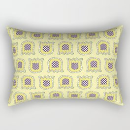 Topsy Turvey Tulips Rectangular Pillow