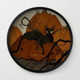 The Pumpkin Patch Wall Clock