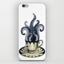 Kraken tea iPhone Skin