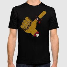 Thumbs Up Great Job 2X-LARGE Mens Fitted Tee Black