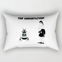 The Unemployed - Sam&Yoko Rectangular Pillow