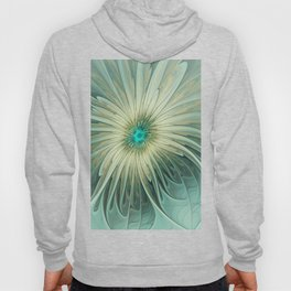 Emotions of a Flower, Abstract Fractal Art Hoody