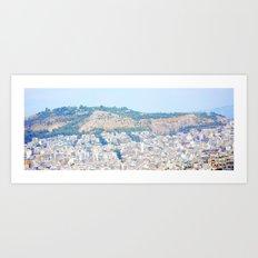 Athens and me Art Print