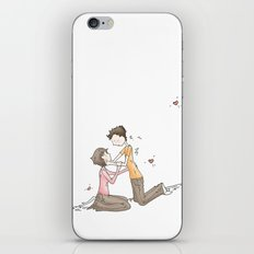 Hold your Hand, Illustration iPhone & iPod Skin