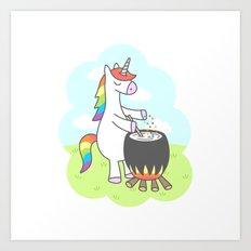 Unicorn Potion Art Print