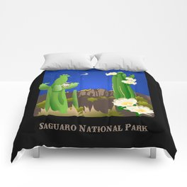 Saguaro National Park Comforters