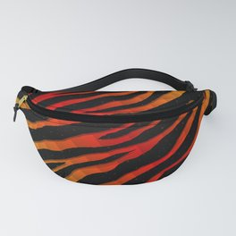Ripped SpaceTime Stripes - Yellow/Red Fanny Pack